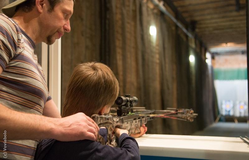 стрелковый клуб в москве для детей