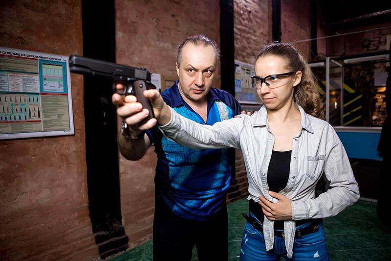Клуб стрельбы из пистолета в москве ночной клуб the one нижневартовск